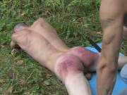 Cruel and vicious spankings video