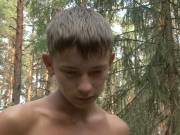 Zealous outdoor blowjob for twink