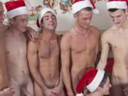 Seven young twinks on this group gay sex tube video. Watch free young boys orgy sex.