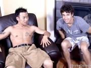 Asian twink guy fuck amateur boys from USA. Free video.
