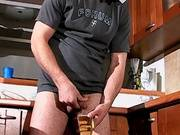 Muscle guy piss on hand jerking off with cumshot Marek free free video tube mov